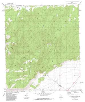 Glass Mountain Ranch USGS topographic map 30103d1