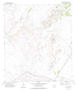 Elam Mountain USGS topographic map 30103d5