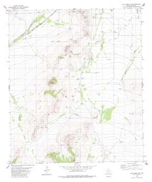 Cave Mesa Ne USGS topographic map 30103f1