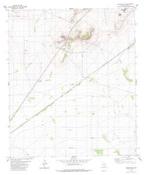Chancellor topo map
