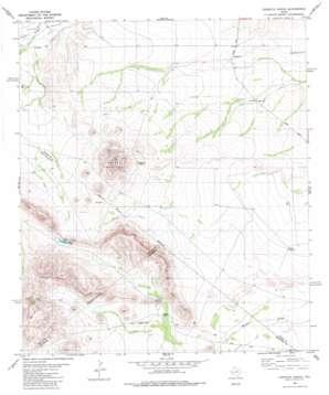 Leoncita Ranch topo map