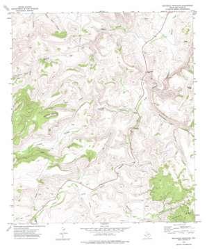 Swayback Mountain topo map