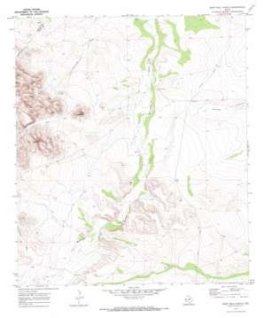 Deep Well Ranch topo map