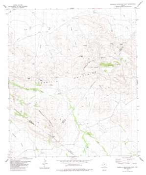 Barrilla Mountains East topo map