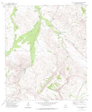 Big Aguja Mountain topo map