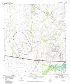 Belding Ne topo map