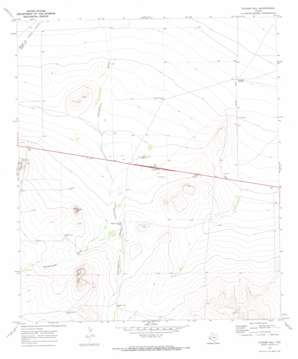 Tucker Hill topo map