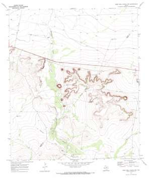 Deep Well Ranch Nw topo map