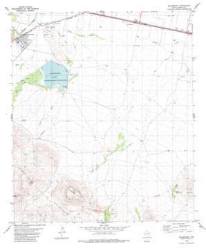 Balmorhea topo map