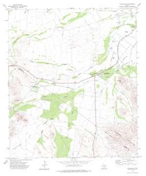 Toyahvale topo map