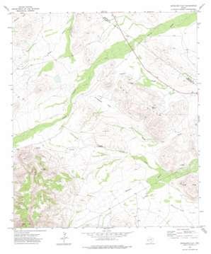 Antelope Flat topo map
