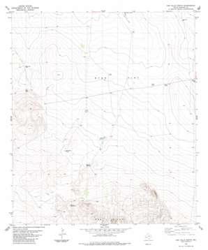 Oak Hills North topo map