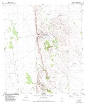 Ryan Sw topo map
