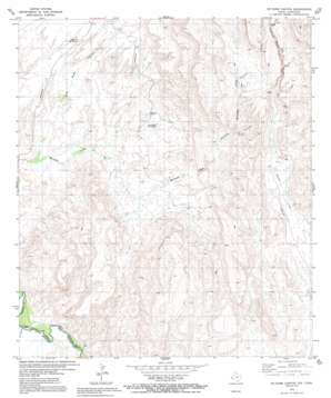 Mccomb Canyon topo map