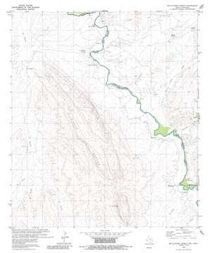 Mccutchen Ranch topo map