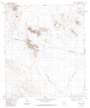 Smith Hills topo map