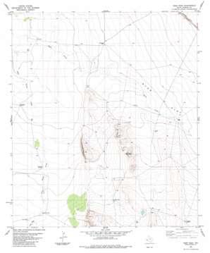 Deer Peak topo map