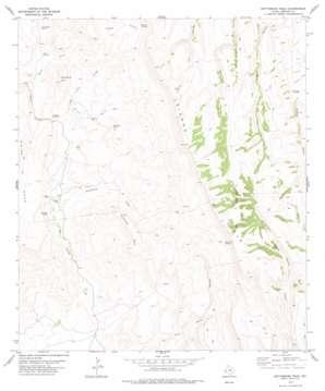 Gettysburg Peak topo map