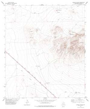 Dowman Canyon USGS topographic map 30104f5