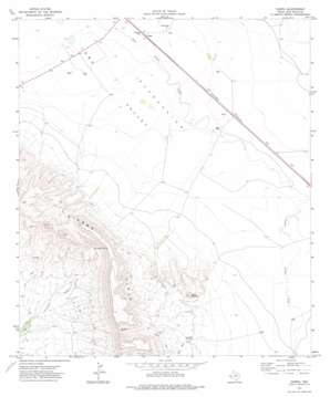 Chispa topo map