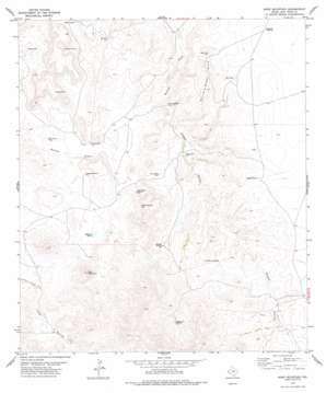 Bare Mountain topo map