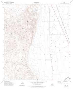 Lobo topo map