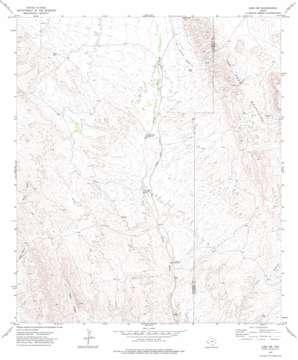 Lobo Sw topo map