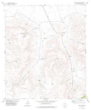 Echo Canyon topo map