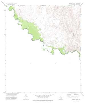 Bramlett Ranch topo map