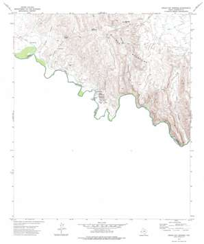 Indian Hot Springs topo map