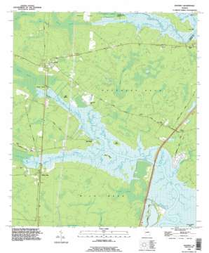 Waverly topo map