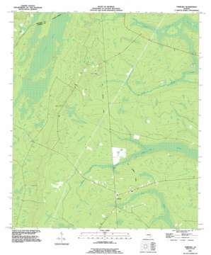 Tarboro topo map
