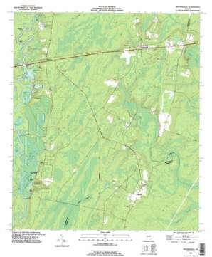 Waynesville topo map