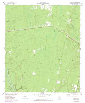 Browntown topo map