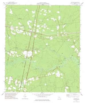Hortense topo map