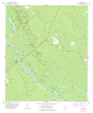 Cox topo map