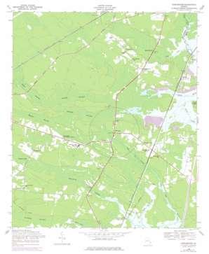 Dorchester topo map