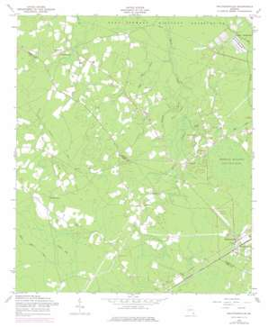 Walthourville topo map