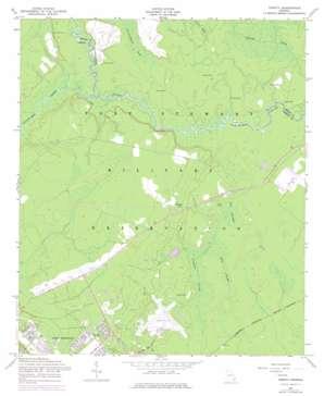 Trinity topo map