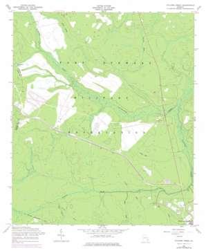 Taylors Creek topo map