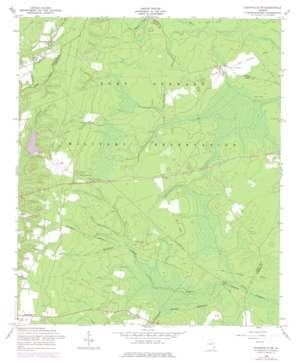 Glennville Ne topo map