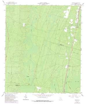 Waycross USGS topographic map 31082a1