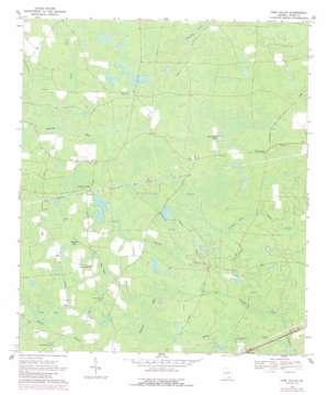 Pine Valley topo map