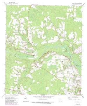 Dixie Union topo map