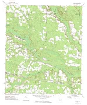 Axson topo map