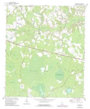 Kirkland topo map