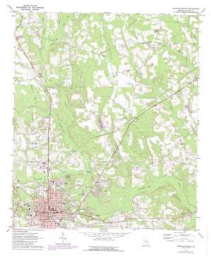 Douglas North topo map