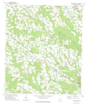 Broxton South topo map
