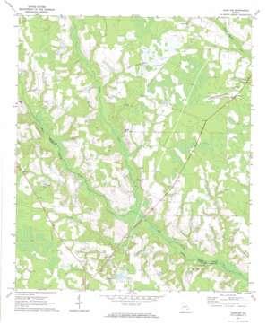 Alma Nw topo map