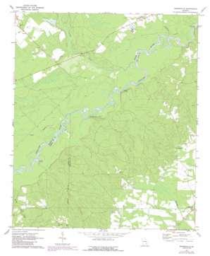 Snipesville topo map
